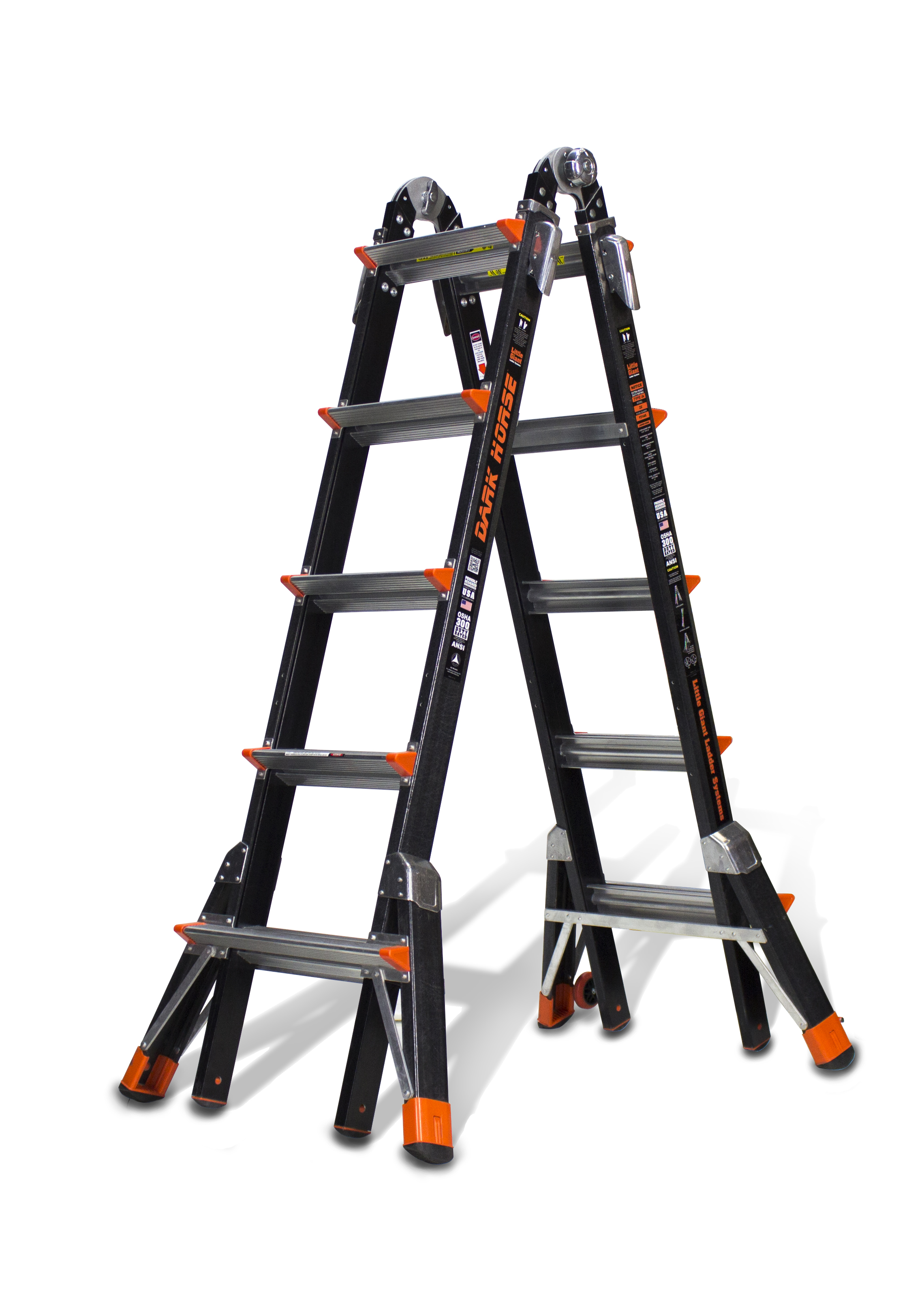 Type Ia Litttle Giant Fiberglass Ladder System Lynn